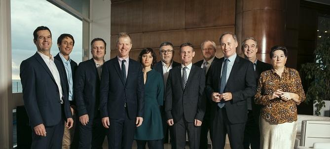 La nouvelle Equipe du BE